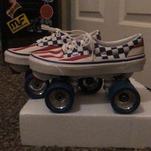Custom Vans Skates Size 8.. Brand New